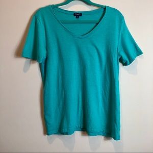 Splendid Green V-Neck Shirt